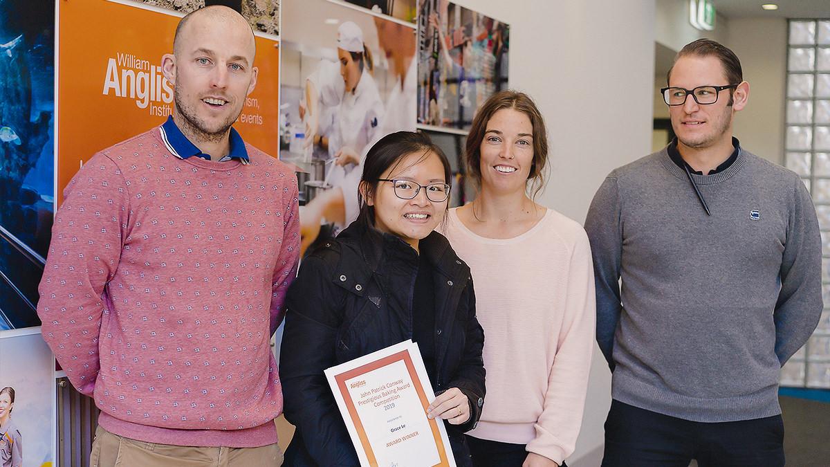 Aspiring pastry shop owner wins John Patrick Conway award