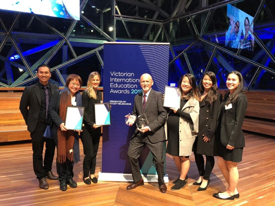 Angliss wins for International education excellence
